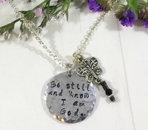 Know I Am God Charm Necklace