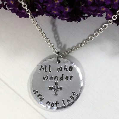 All Who Wander Necklace