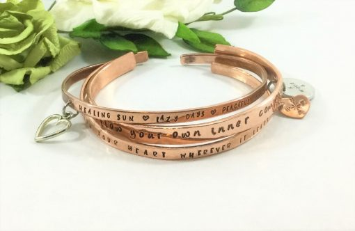 Bracelets with Dangle Charm