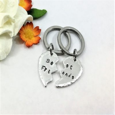 Best Friends Keychain Set