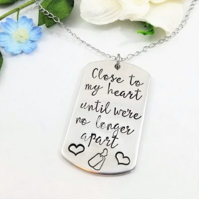 Close To My Heart Military Necklace